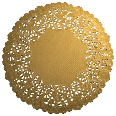 SRM Stickers Blog - Fancy Thank You Cards by Christine - #fancy #doily #gold #metallic