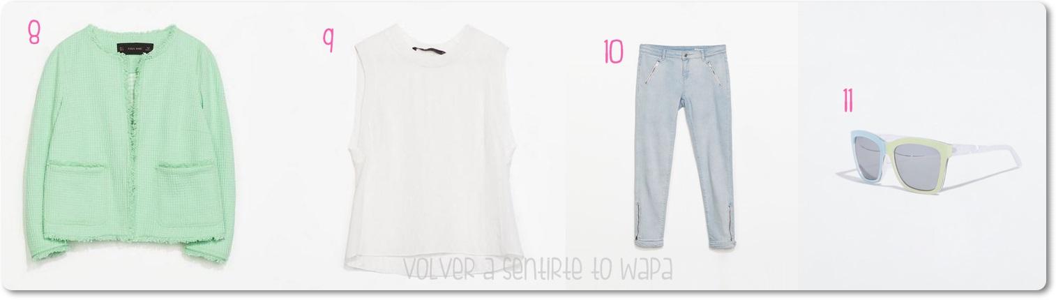 Outfit de rebajas de verano de Zara