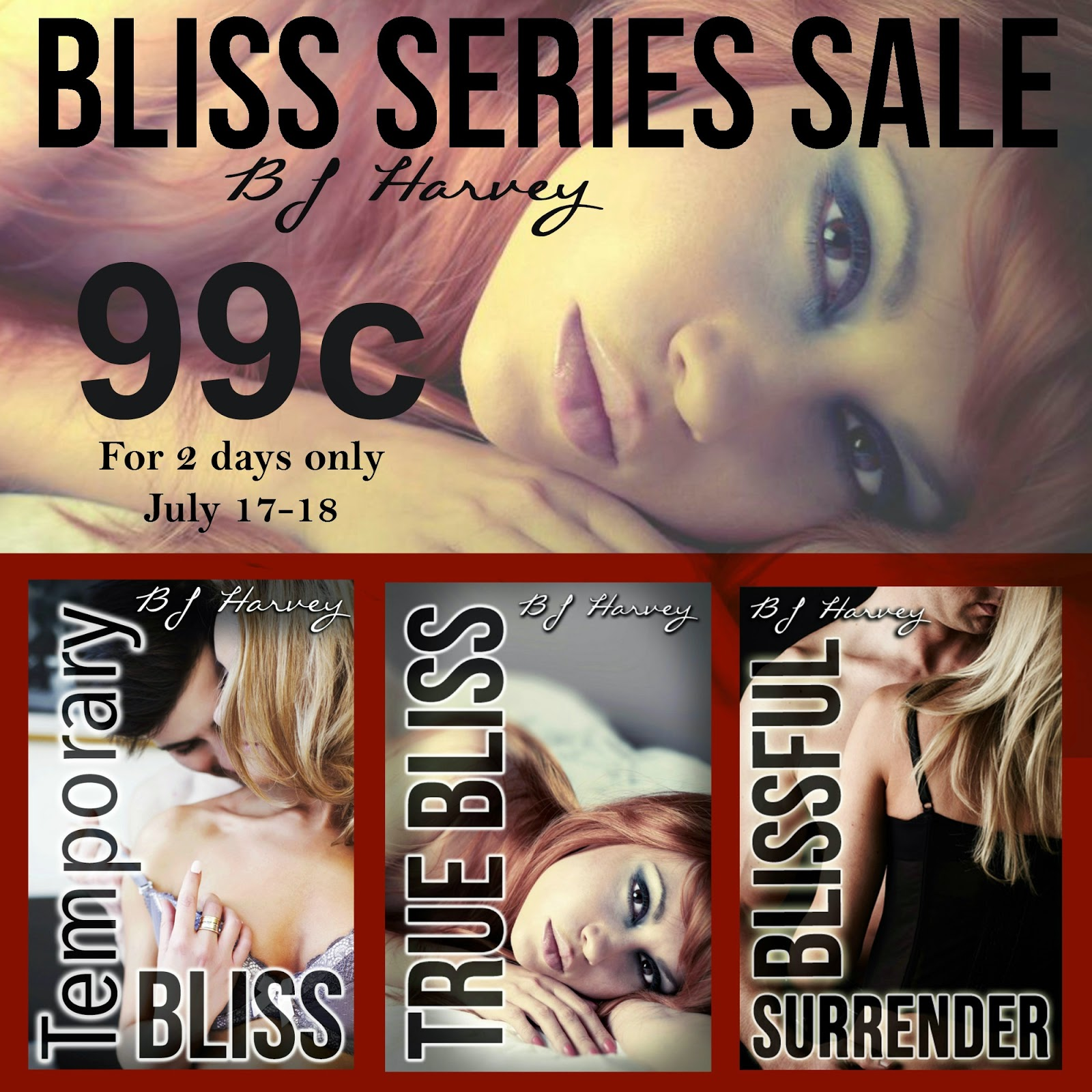 Bliss Series Sale by BJ Harvey