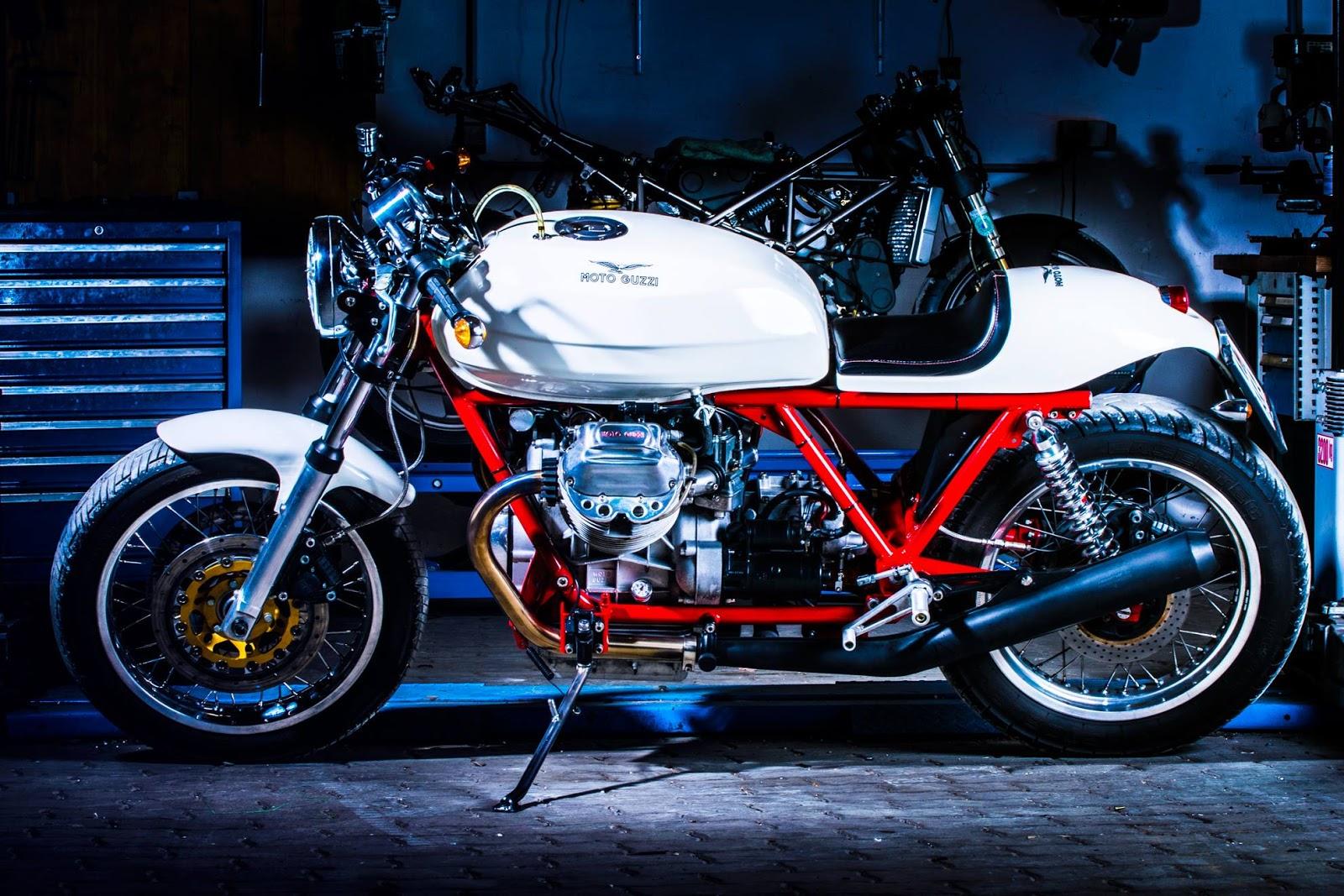 moto guzzi 1000 sp cafe racer rocketgarage cafe racer. Black Bedroom Furniture Sets. Home Design Ideas
