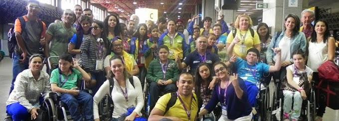 RN tem desempenho positivo nas Paralimpíadas Escolares 2014