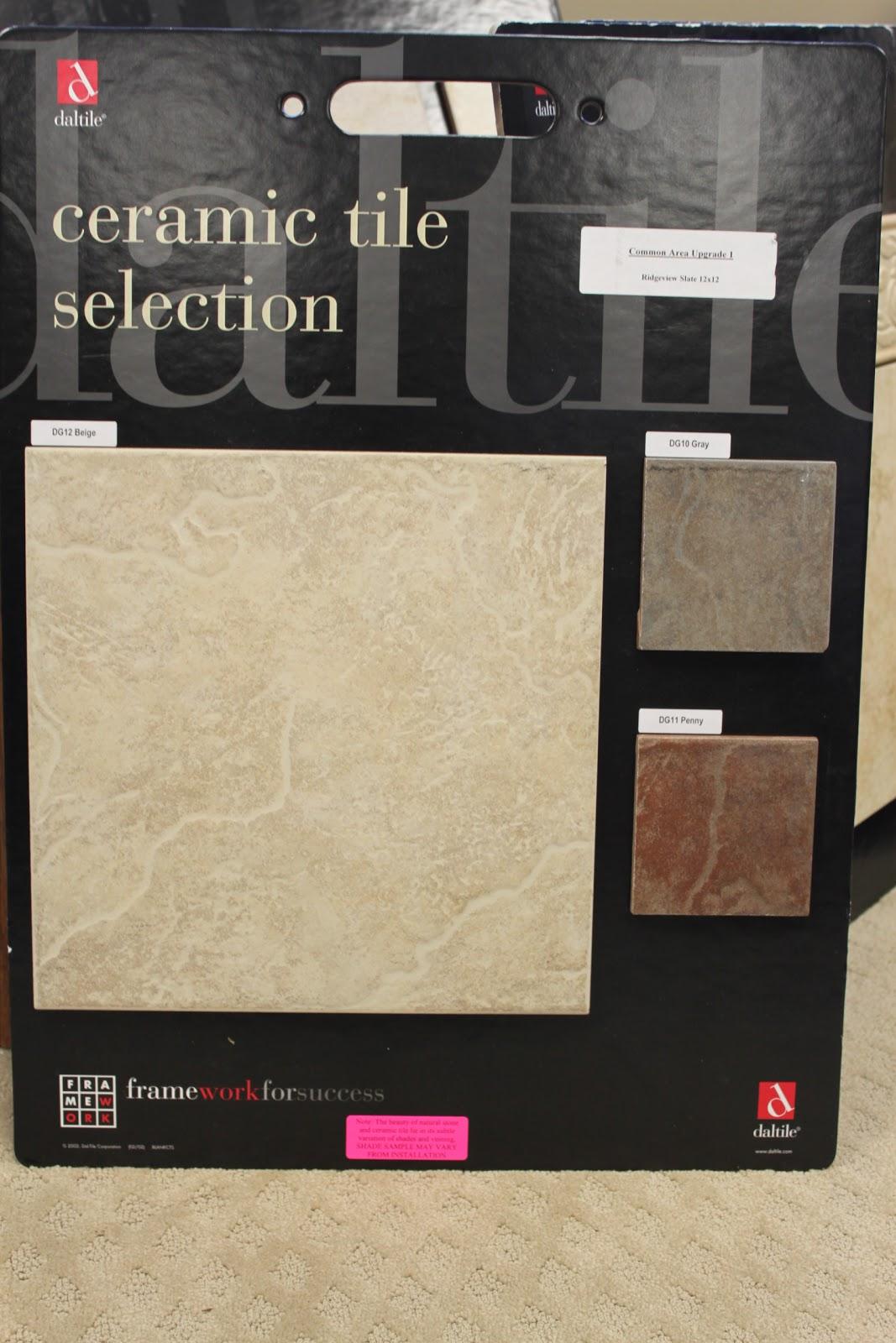 Light Cream Vs Dark Color Ceramic Tiles.?