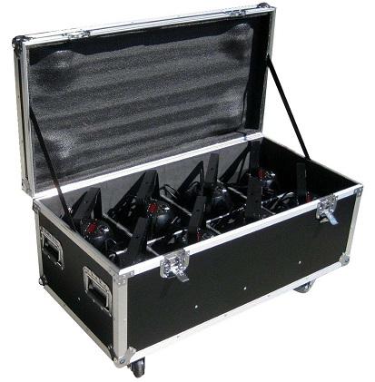 Flight case and 8 par 64 led 3w x 36 pcs lights - Fabriquer flight case ...