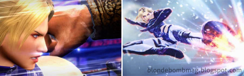 Tekken Yamasa Arcade screenshot Nina Williams CG