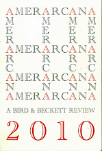 AMERARCANA. A bird & Beckett Review