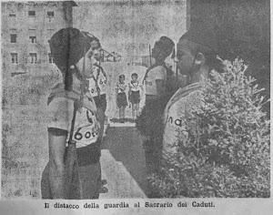 """RIMINI IL SACRARIO DEI CADUTI ALLA COLONIA """"X LEGIO"""""""
