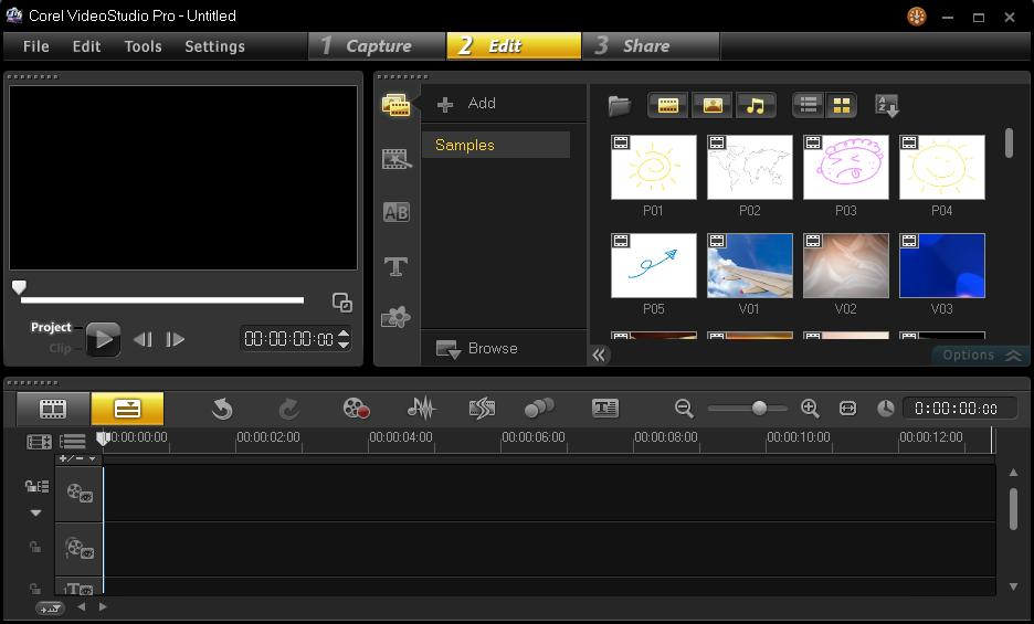 Cara Memulai Membuat Project Corel Video Studio