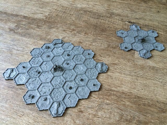 40K Campaign; Hex Tiles; Planet and Moon