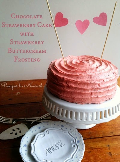 http://www.recipestonourish.com/2015/02/chocolate-strawberry-cake-strawberry-buttercream-frosting.html