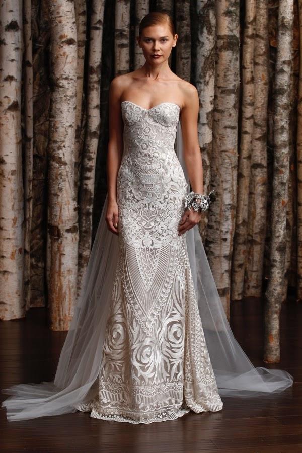 Naeem khan bridal ss 2015 aisle perfect for Naeem khan wedding dress