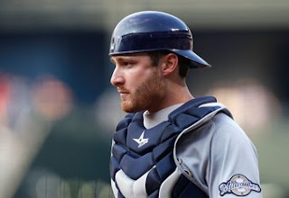Milwaukee Brewers catcher Jonathan Lucroy