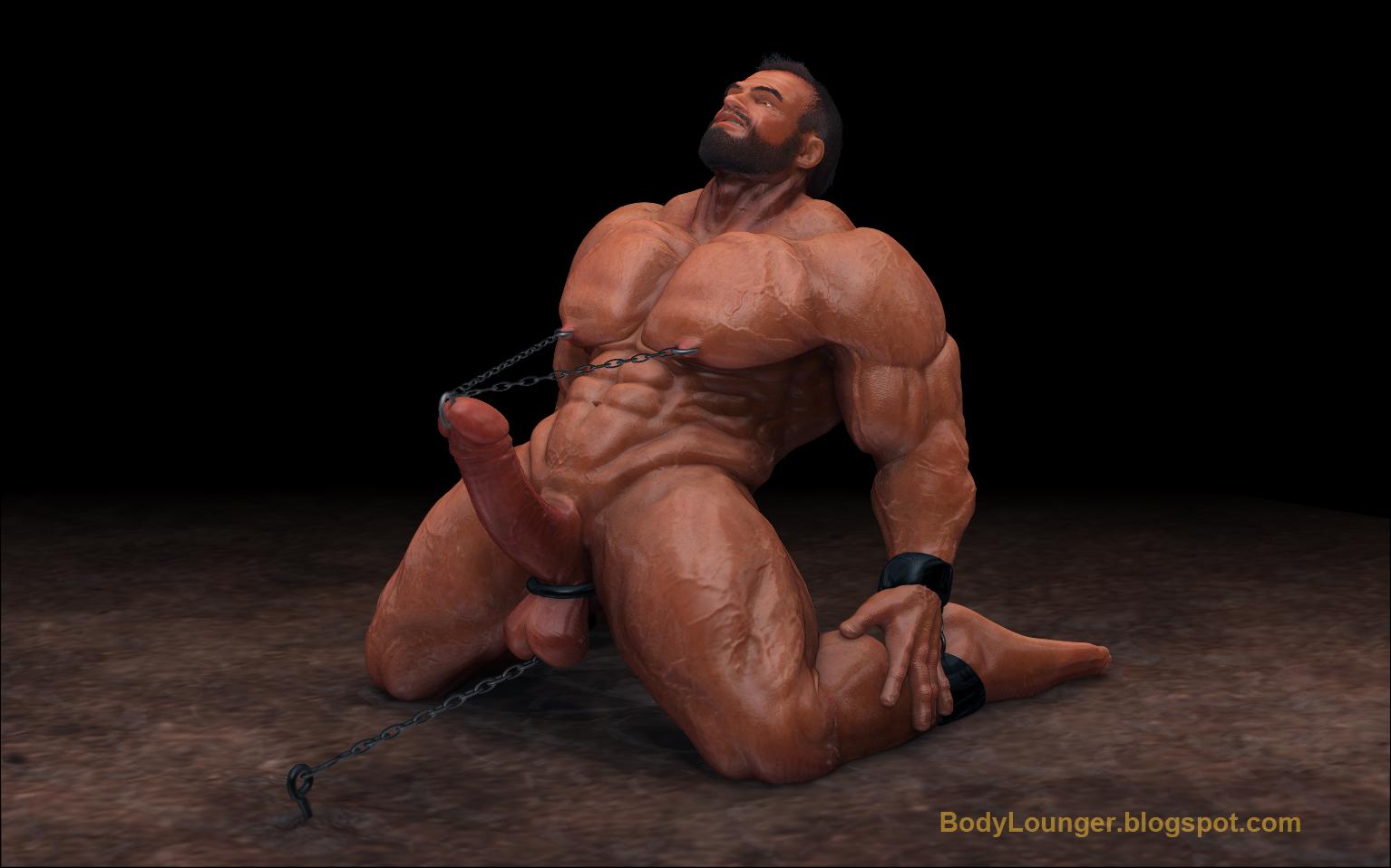 image Gay male bodybuilders bondage erotic master