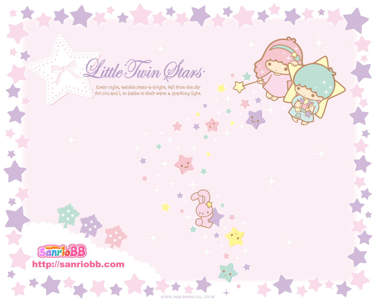 Wallpaper: Little Twin Stars Wallpaper (001) Little Twin Stars Wallpaper 2013