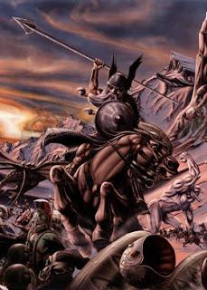 En la mitología nórdica, Ragnarök o Ragnarok (destino de los dioses) es la batalla del fin del mundo. Esta batalla será supuestamente emprendida entre los dioses, los Æsir, liderados por Odín y los jotuns liderados por Loki. No sólo los dioses, gigantes, y monstruos perecerán en esta conflagración apocalíptica, sino que casi todo en el universo será destruido.