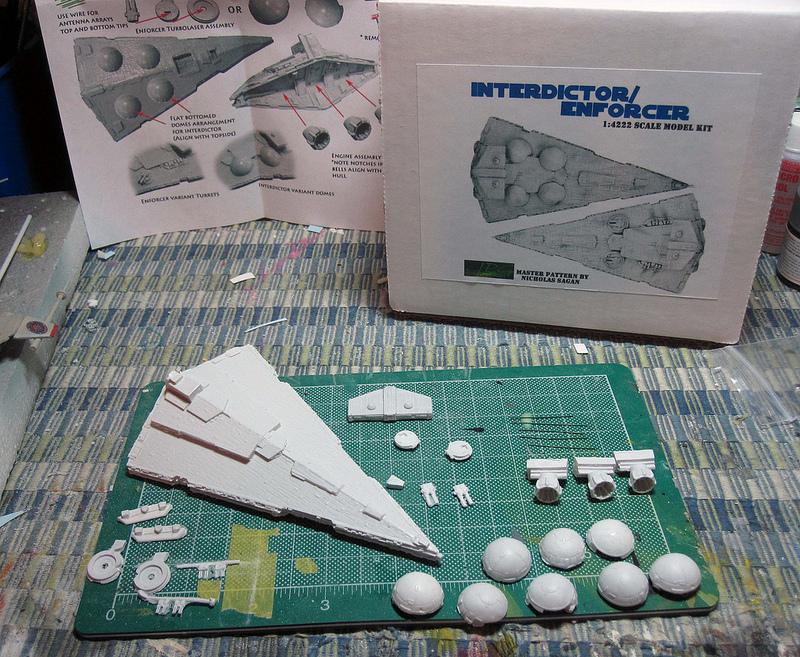 Science Fiction Modeler  Interdictor Class Star Destroyer