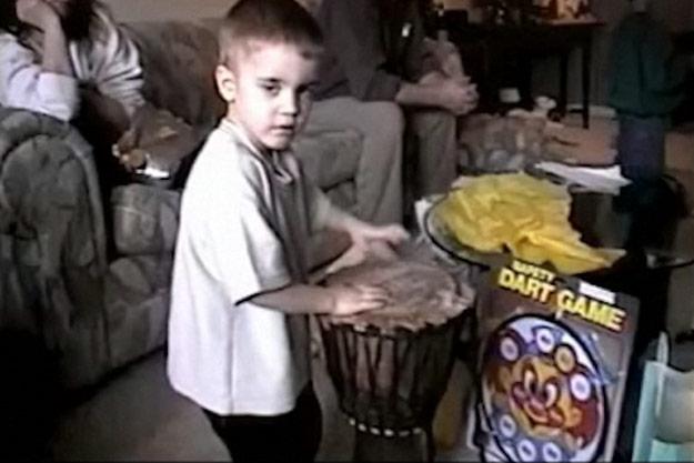 Картинки джастин бибер в 7 лет