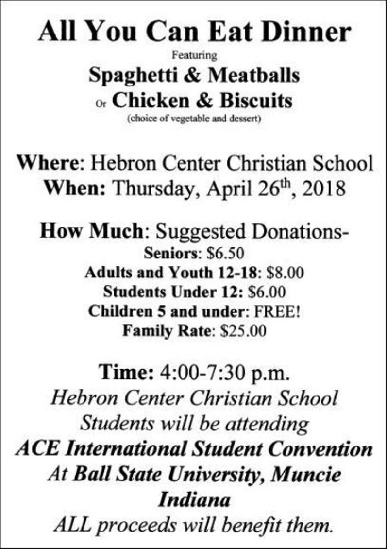 Hebron Center Christian School