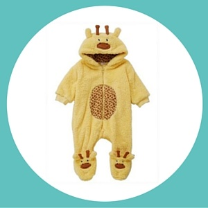 Cool giraffe sleep suit pram suit for babies