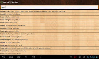 aplikasi kamus inggris untuk tablet