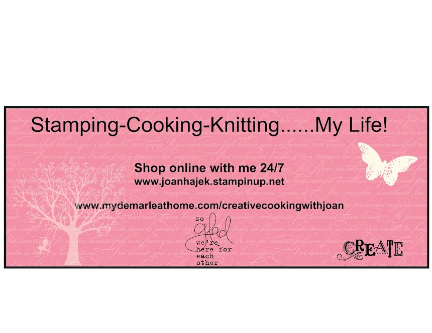 Stamping-Cooking-Knitting-My Life!