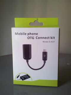Photo of Samsung OTG micro USB cable box