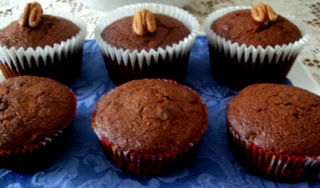 Chocolate Chocolate Chip 'Hider' Muffins