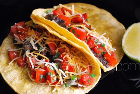 Tacos, Carne Asada. The Marinade.