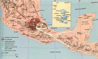 ubicacion de los toltecas