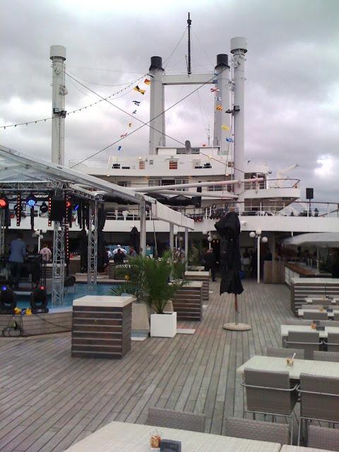 SS Rotterdam Deck