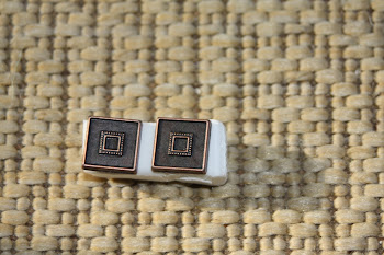Square copper colored
