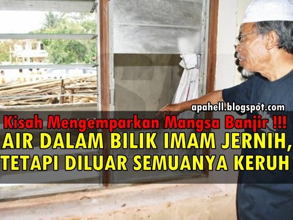 Subhanallah Kisah Banjir Air Jernih Bertakung Dalam Bilik Imam Jadi Sumber Air Penduduk
