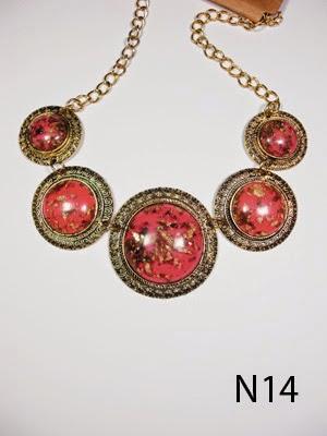 kalung aksesoris wanita n14
