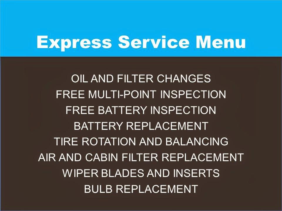 Honda Highlight: Our Express Service Center