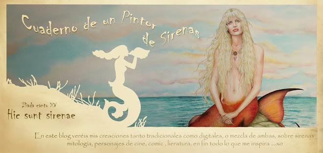 Cuaderno de un pintor de Sirenas