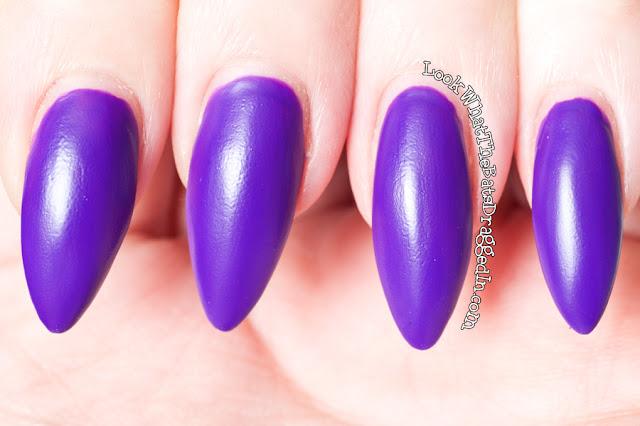 Illamasqua Prosperity nail polish swatch rubber brights