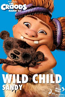 The Croods Sandy Poster