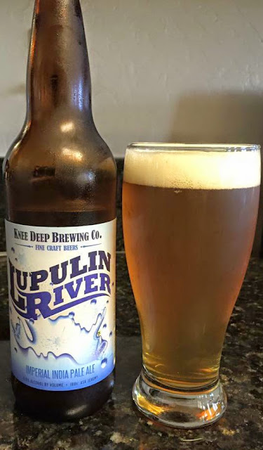 Knee Deep Lupulin River Imperial IPA 5