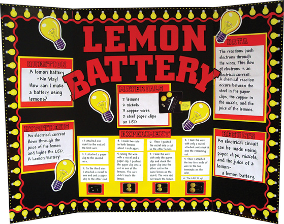 potato battery science project