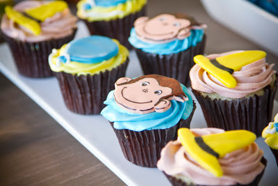 You're Welcome Events- Curious George themed Baby Shower