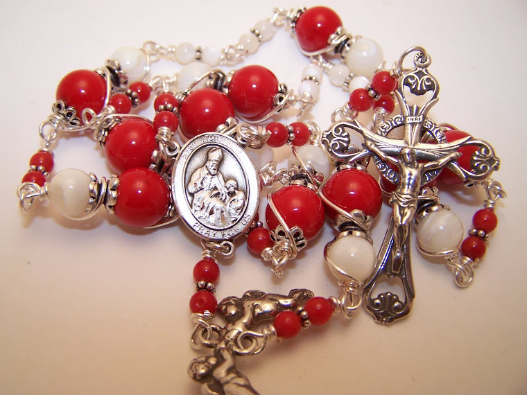 No. 4.  SOLD! Chaplet Of St. Ambrose- Custom Made for client