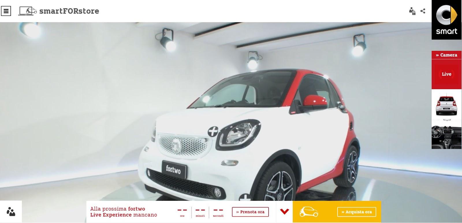 voiture du futur smart se lance dans la vente par internet. Black Bedroom Furniture Sets. Home Design Ideas