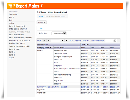php report maker book Phpreports is a php report generator application that uses xml report  sp -  book: linux programming guide - 2500 1 - eustaquio rangel.
