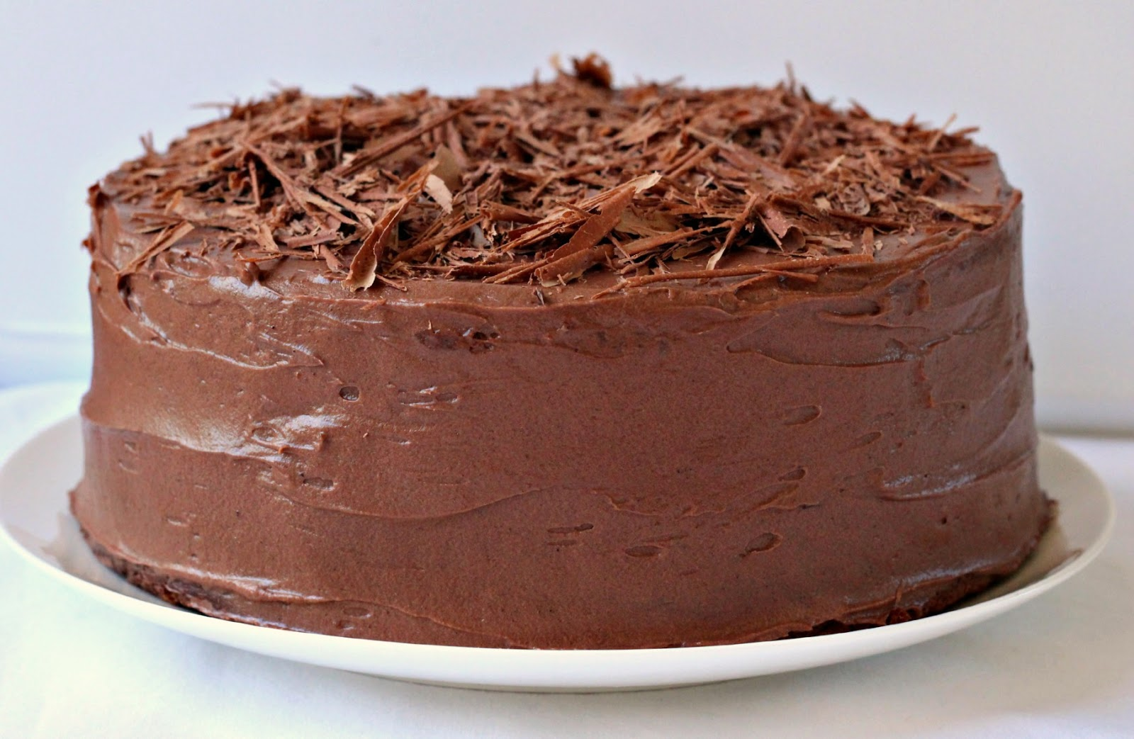 Milk and Honey: Chocolate Layer Cake with Chocolate Cream Cheese ...