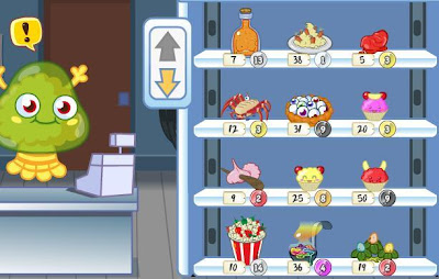 Snozzle Moshi Monsters Gross-Ery Store