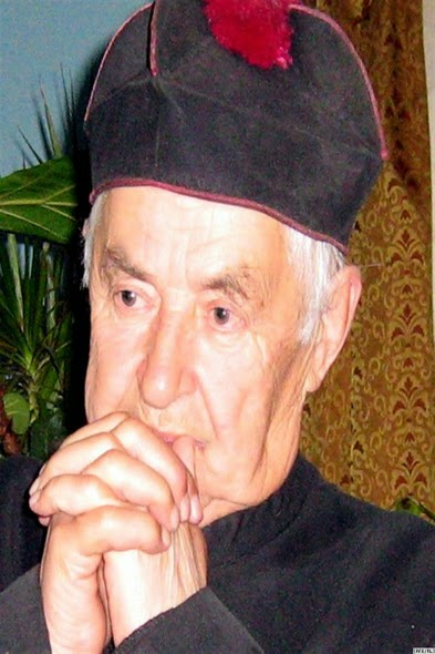 The late priest of Mosar - Uozas Bulka in Mosar - Belarus