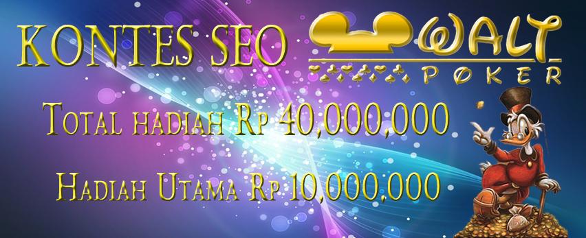 Kontes SEO Waltpoker Situs Judi Domino Poker Online Terpercaya Indonesia