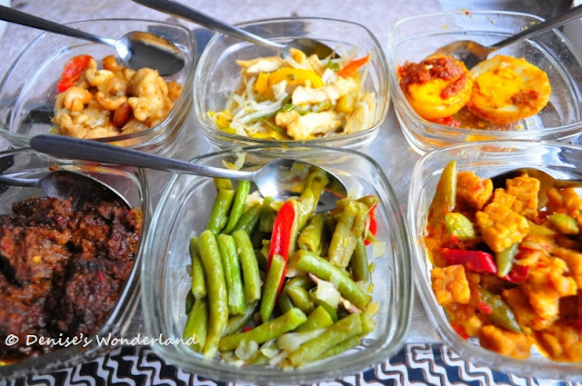Side dishes for Rijsttafel