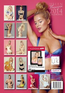 Helen Flanagan 2014 Official Calendar
