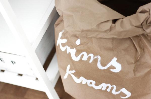 Krimskramstüte für mehr Ordnung