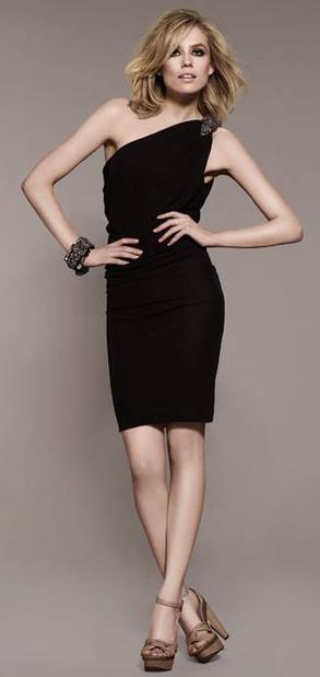 vestidos asimétricos 2011